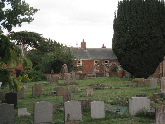Thorney churchyard