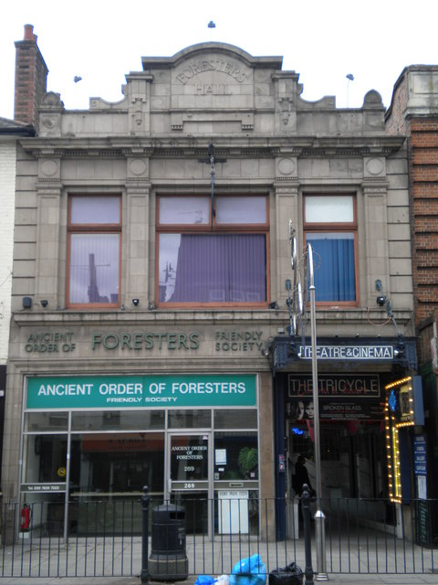 Foresters Hall, Kilburn High Road NW6