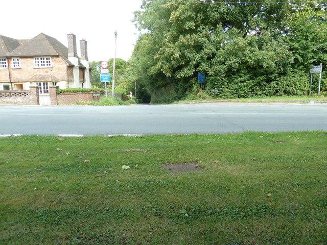 Cob Lane off the B2028 at Ardingly