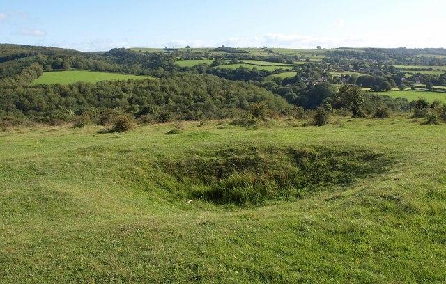 View from Dolebury Warren