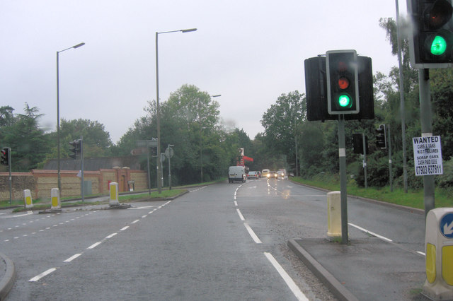 A287 becomes Odiham Road