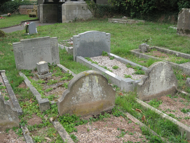 Memorials to members of the Knowles family