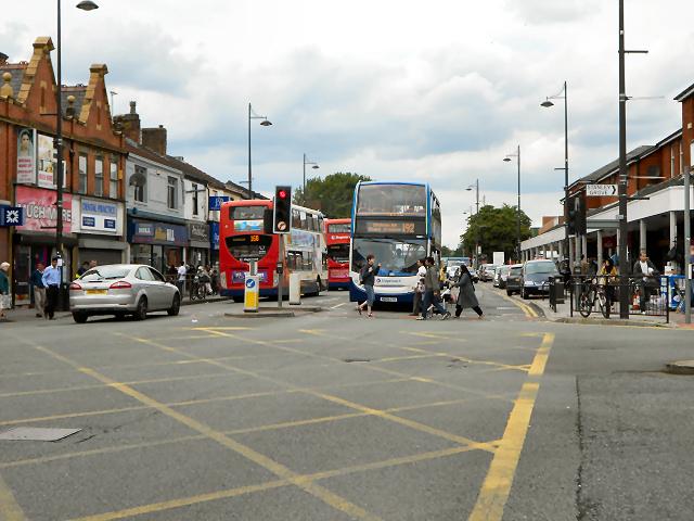 Stockport Road (A6), Longsight