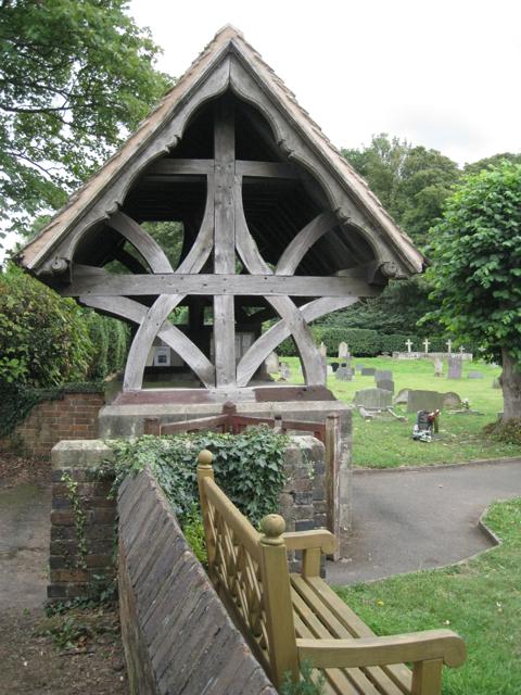 Lychgate, Baxterley parish church