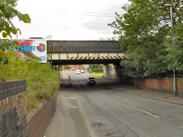 Kirkmanshulme Lane Railway Bridge