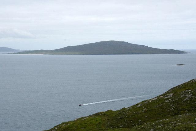 View towards Taransay