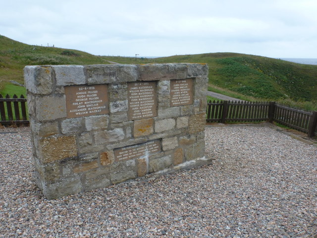 Portskerra: names of those who perished in sight of their homes