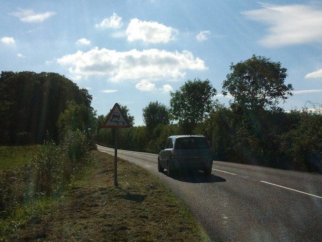 A3072 to Crediton on a sunny afternoon