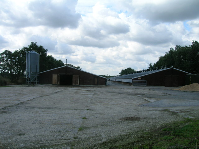 Farm buildings, King Rudding Farm