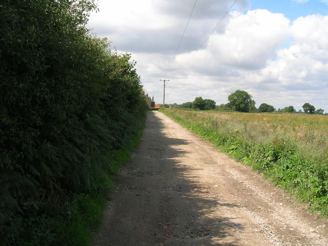 Track to Field House Farm
