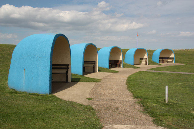 Seaside shelters