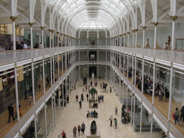 The Grand Gallery of the National Museum of Scotland
