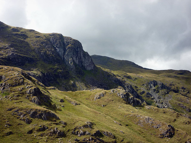 Dove Crag from Stand Crags