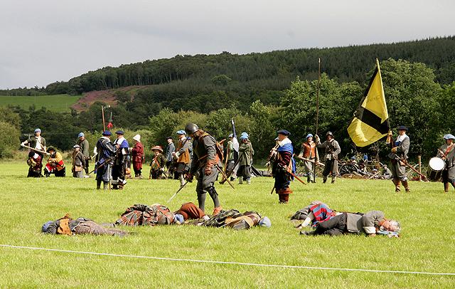 The Battle of Philiphaugh re-enactment, 2011