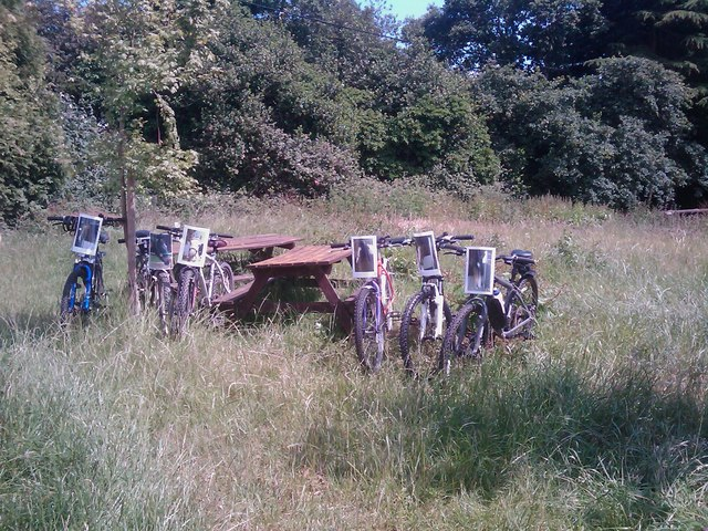Bikes Grazing at the Filly Inn