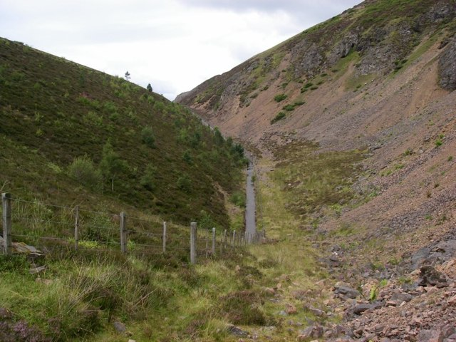 A9 embankment at the Slochd