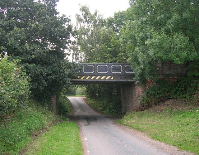 Bridge over Howden Lane
