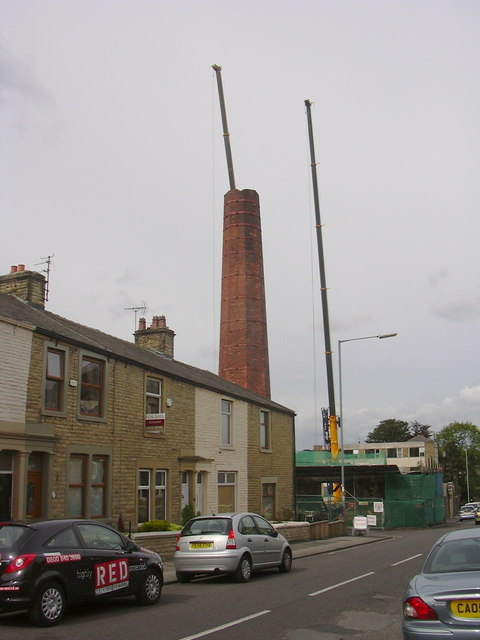 Rhyddings Mill Chimney, Rhyddings Street, Oswaldtwistle, Accrington BB5 3ER
