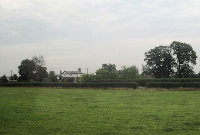 Fields across to Astley Lodge