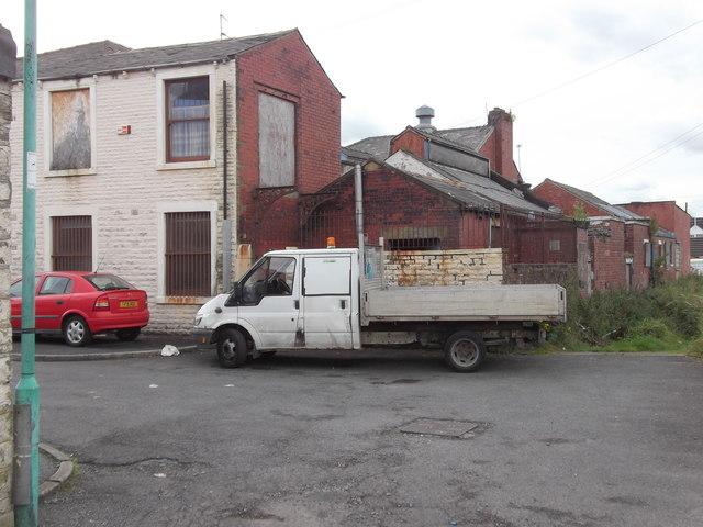 Back Heyes Lane-Catlow Hall Street, Oswaldtwistle