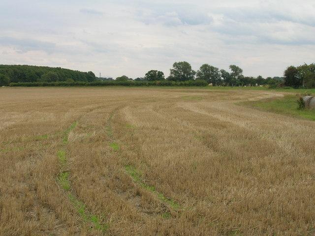 Farmland near Kelfield Grange