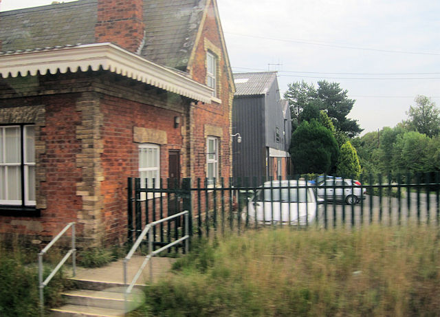 The old Hadnall station and Marvels warehouse