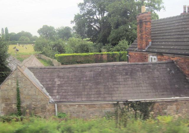 Rear of Railway Inn at Yorton