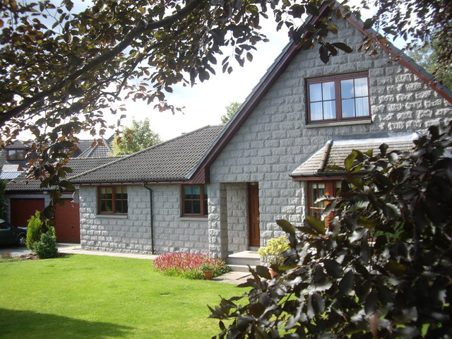 House on Fare View estate, Torphins