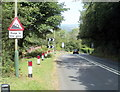 ST1585 : Keep in low gear : 17% descent ahead, Mountain Road, Caerphilly by Jaggery