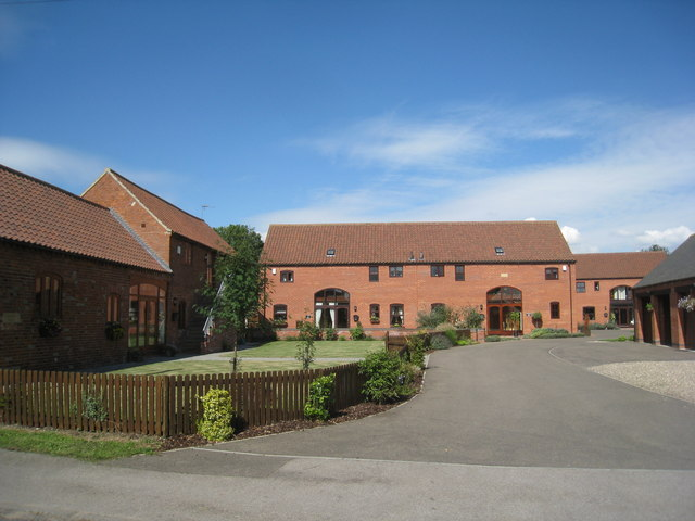 Barn conversion and new dwellings