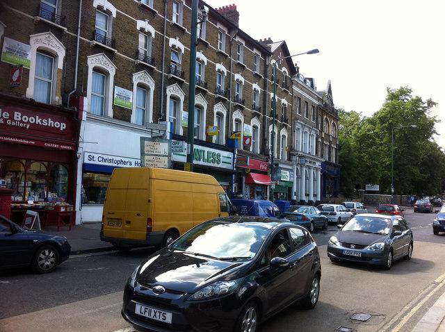Shops on Sydenham Road, Sydenham