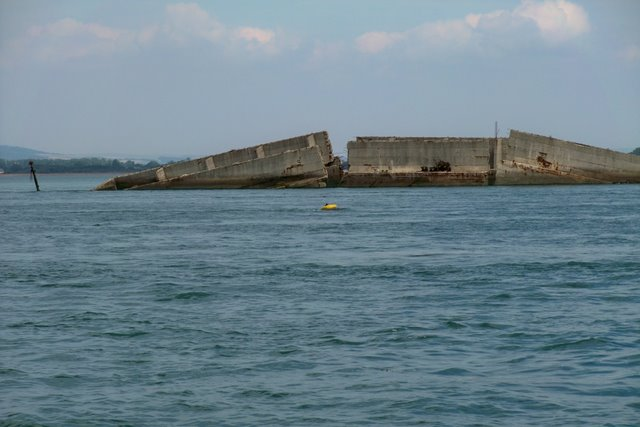 Wartime relic-Langstone Harbour 2