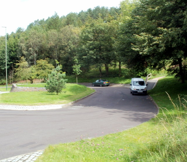 Mountain Road layby, Caerphilly