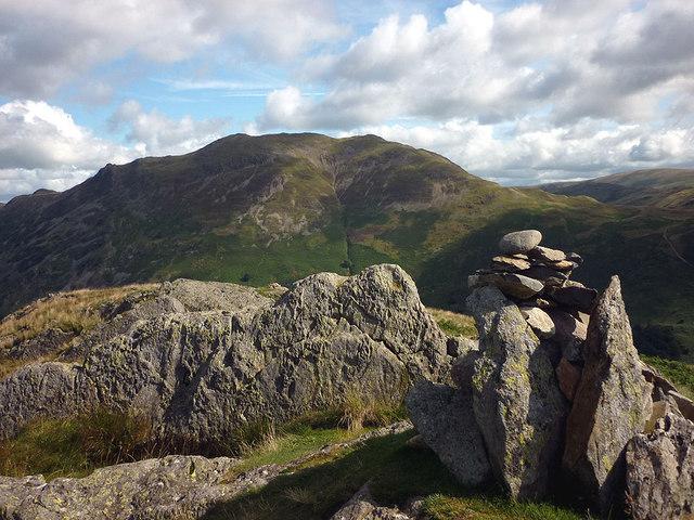 Summit cairn, Arnison Crag (433m)