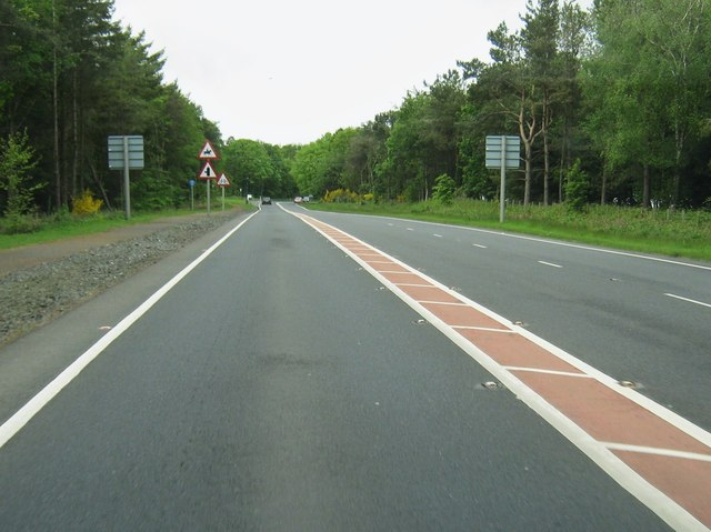 A75 approaching Planting End