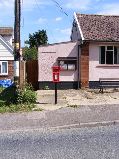 Village Hall Postbox
