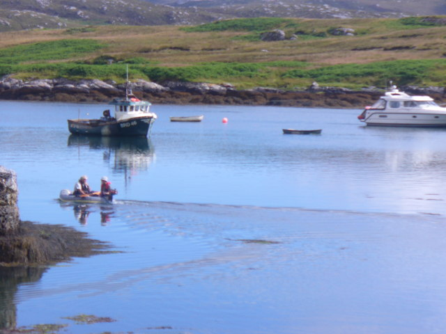 Boats on Bagh Dubh