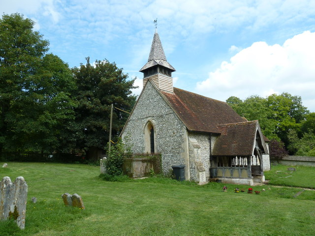 All Saints, Tunworth: south-west aspect