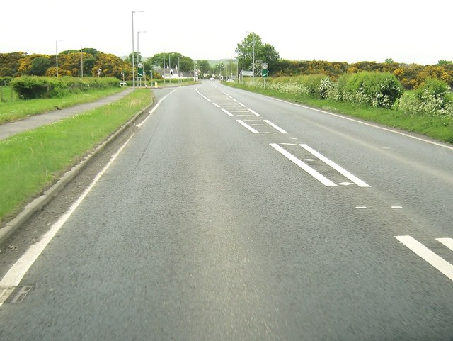 Approaching the junction with Commerce Road
