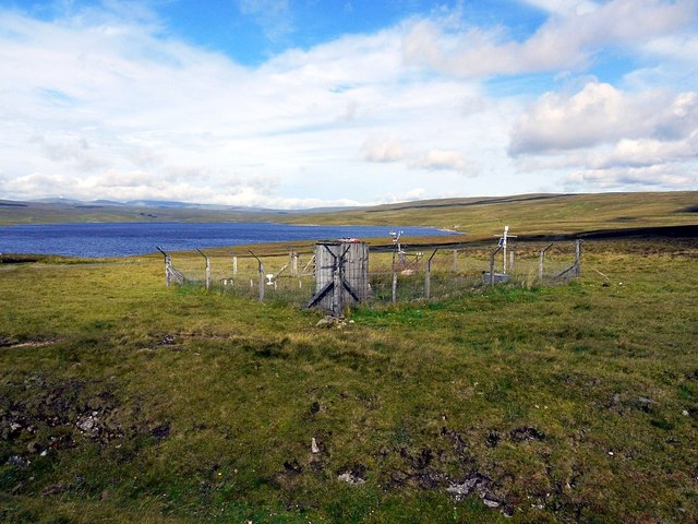 Weather station, Cow Green Reservoir