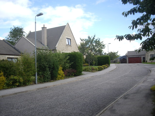 A side street off Annesley Grove