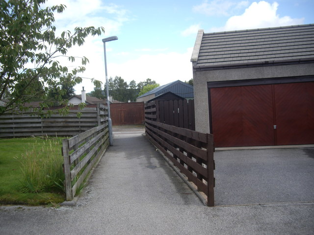 A short path in Torphins