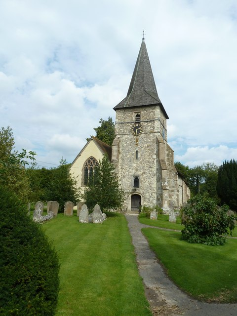 Holy Rood, Holybourne: August 2011