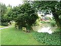 SU7341 : Holy Rood, Holybourne: churchyard (c) by Basher Eyre