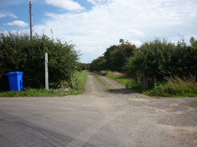 The way to Sleights House