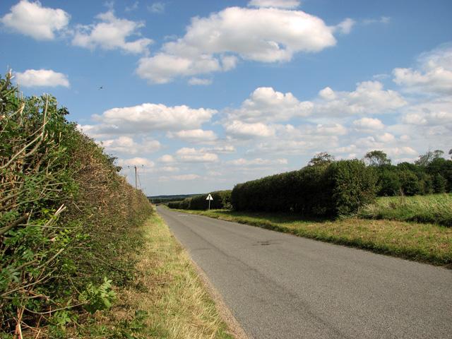 The road to North Creake