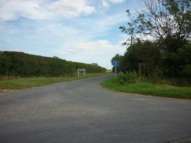 Stockbridge Lane towards Eastfield Farm