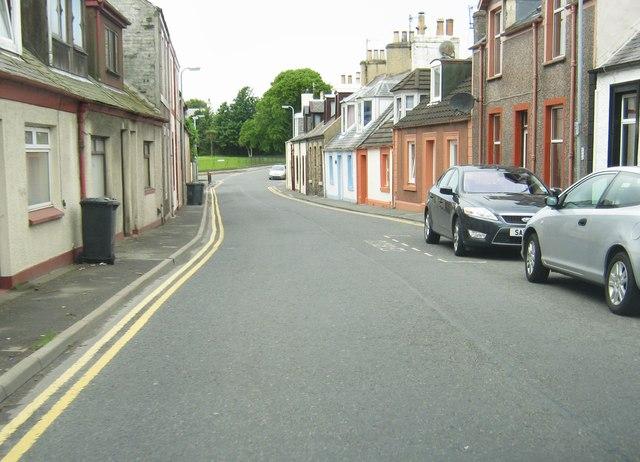 Sun Street approaching Glebe Street