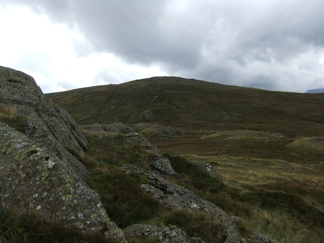 Low White Stones from Greenup Edge