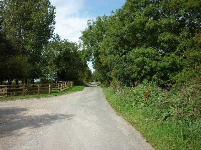 Carr Lane towards Nafferton Carrs